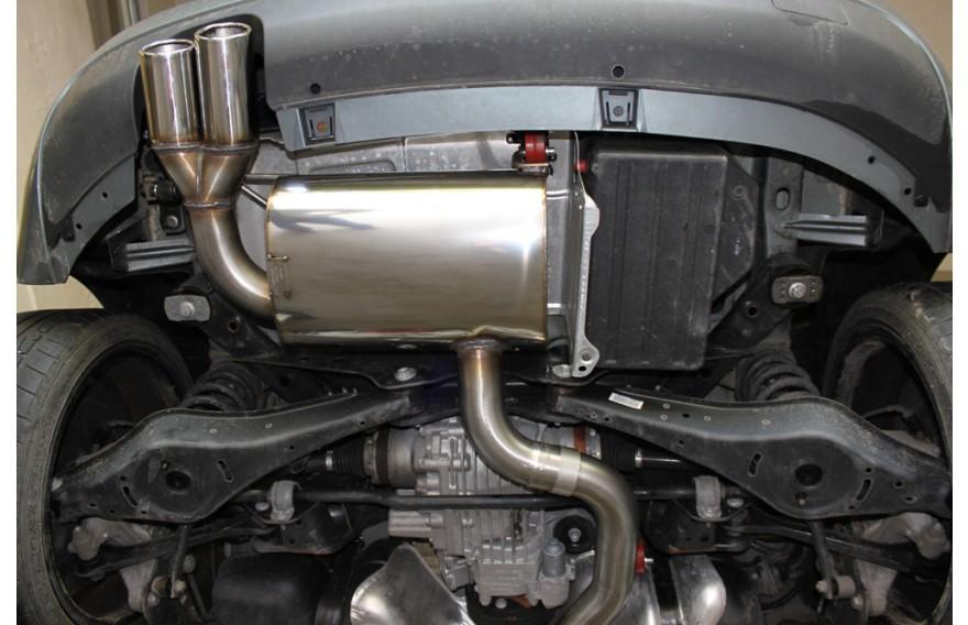 Fox Sportauspuff Audi A3 8p Quattro Sportback 3 2l V6 Endrohr