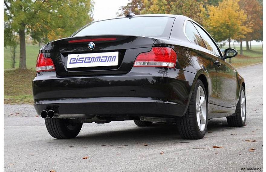 eisenmann sportauspuff bmw 1er coupe cabrio e82 e88 135i. Black Bedroom Furniture Sets. Home Design Ideas