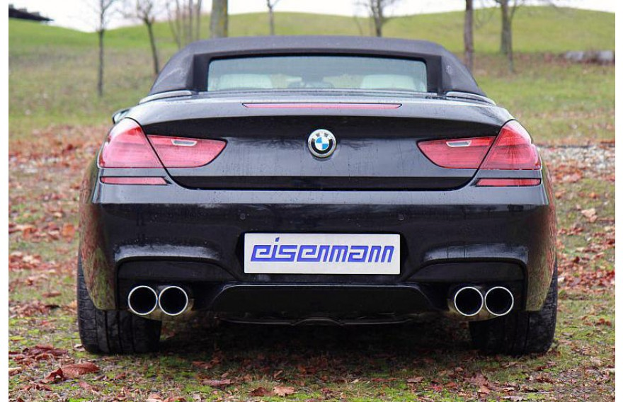 Eisenmann Duplex Sportauspuffanlage Ab Kat Bmw M6 F12 F13 Coupe Cabrio Bj Ab 2012 412kw