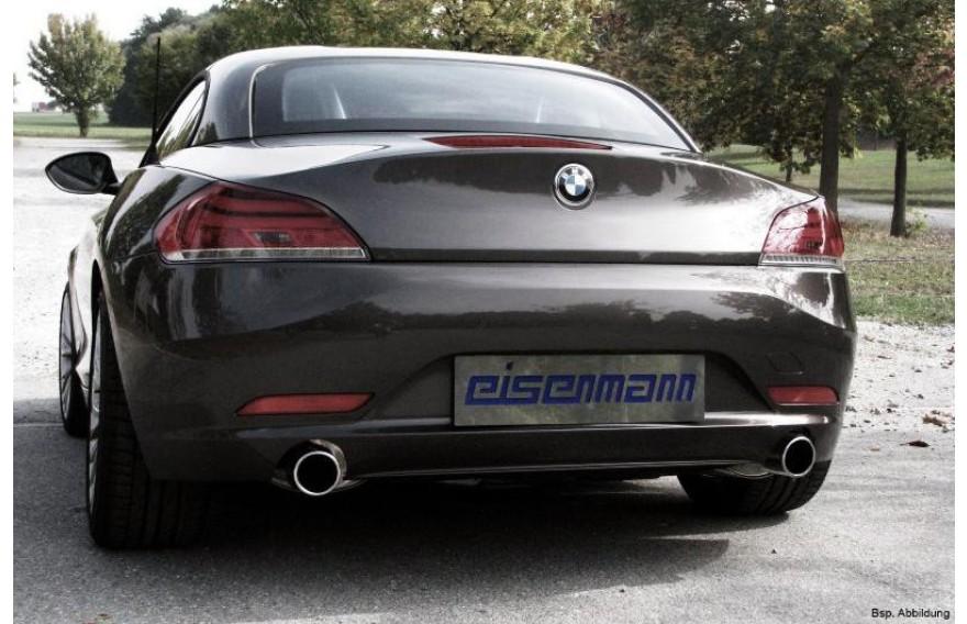 Eisenmann Duplex Racing Sportauspuffanlage Ab Kat Bmw Z4