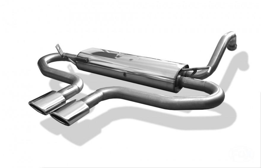 fox sportauspuff toyota aygo 1 bj 2005 2014 endrohr. Black Bedroom Furniture Sets. Home Design Ideas
