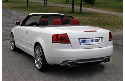 Eisenmann Duplex Sportauspuffanlage Ab Kat Audi A4 B7 Cabrio Typ 8h