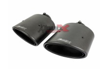 HG-Motorsport Bull-X Carbon Sportendrohr-Set 2x145x90mm oval Typ 20